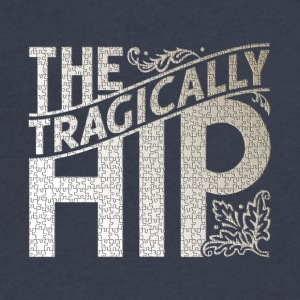 The Tragically Hip Puzzle Mode - Men's V-Neck T-Shirt by Canvas