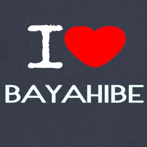 I LOVE BAYAHIBE - Men's V-Neck T-Shirt by Canvas