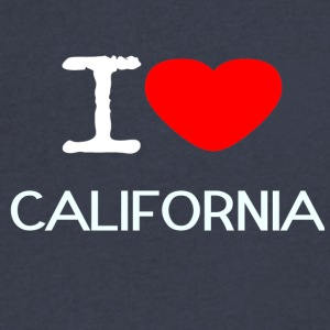 I LOVE CALIFORNIA - Men's V-Neck T-Shirt by Canvas