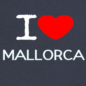I LOVE MALLORCA - Men's V-Neck T-Shirt by Canvas