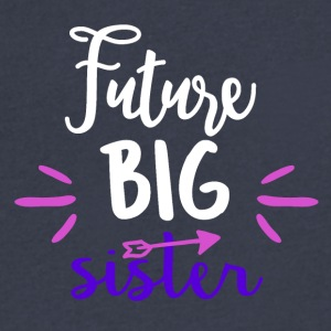 Future big sister - Men's V-Neck T-Shirt by Canvas