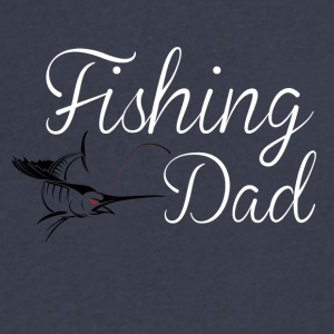 FISHING DAD - Men's V-Neck T-Shirt by Canvas