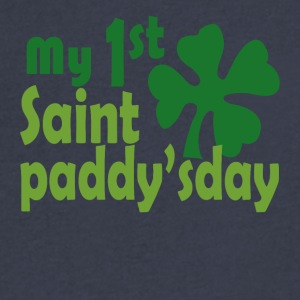 my 1st saint paddyday - Men's V-Neck T-Shirt by Canvas