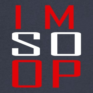 Im So Op - Men's V-Neck T-Shirt by Canvas