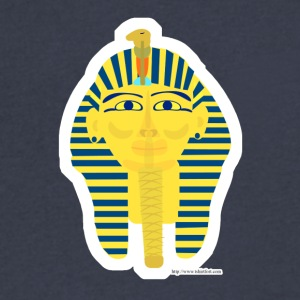 Tut Tut King Tut - Men's V-Neck T-Shirt by Canvas
