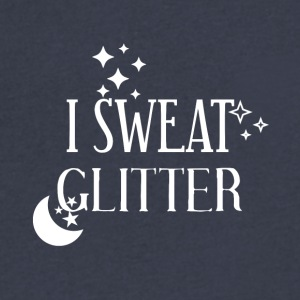 I sweat glitter - Men's V-Neck T-Shirt by Canvas