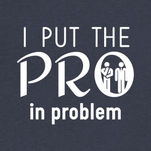 I put the PRO - Men's V-Neck T-Shirt by Canvas