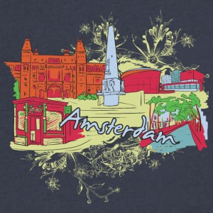 amsterdam - Men's V-Neck T-Shirt by Canvas