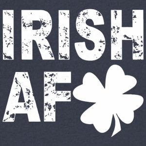 IRISH AF T-SHIRTS - Men's V-Neck T-Shirt by Canvas