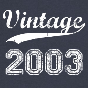 2003 - Men's V-Neck T-Shirt by Canvas