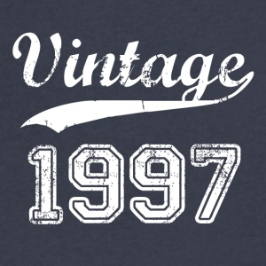 1997 - Men's V-Neck T-Shirt by Canvas