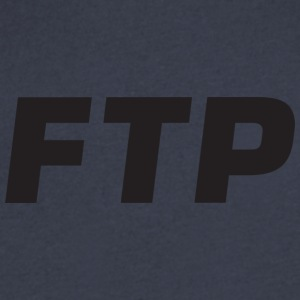 Sonny's FTP - Men's V-Neck T-Shirt by Canvas