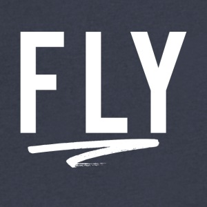 FLY - Men's V-Neck T-Shirt by Canvas