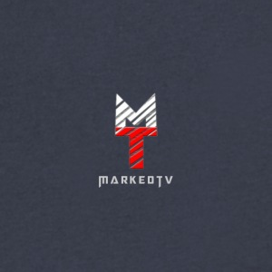 MarkedTV - Men's V-Neck T-Shirt by Canvas