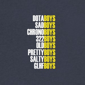 The Boys WY Version - Men's V-Neck T-Shirt by Canvas