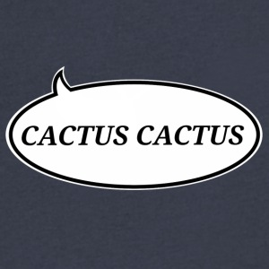CactusCactus - Men's V-Neck T-Shirt by Canvas