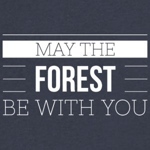 May the forest be with you - Men's V-Neck T-Shirt by Canvas
