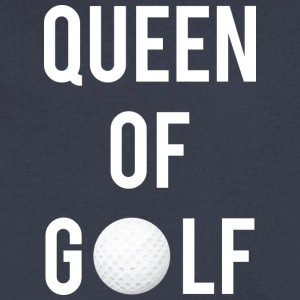 Queen of Golf - Men's V-Neck T-Shirt by Canvas