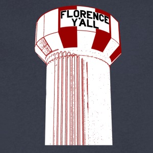 Florence Y'all - Men's V-Neck T-Shirt by Canvas