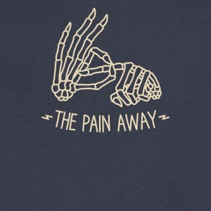 The pain away - Men's V-Neck T-Shirt by Canvas