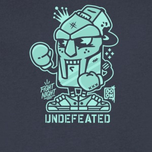 Undefeated fight night - Men's V-Neck T-Shirt by Canvas