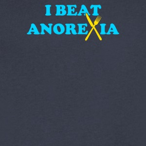 Im Anorexia - Men's V-Neck T-Shirt by Canvas