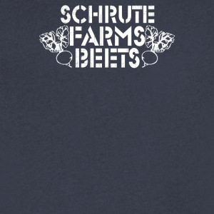 Schrute beets - Men's V-Neck T-Shirt by Canvas