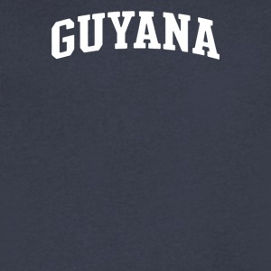 Country of Guyana - Men's V-Neck T-Shirt by Canvas