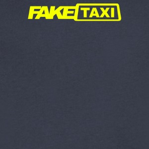 Fake Taxi - Men's V-Neck T-Shirt by Canvas