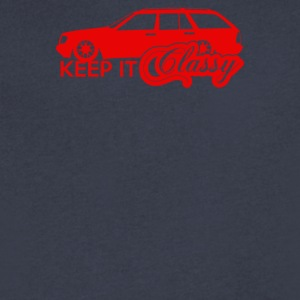 Mercedes Benz Keep it - Men's V-Neck T-Shirt by Canvas