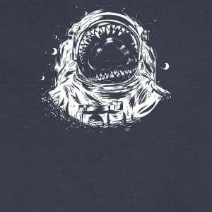 Crowd Spaceman - Men's V-Neck T-Shirt by Canvas