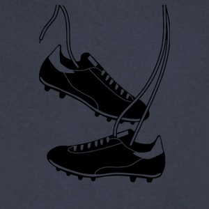 Football Boots - Men's V-Neck T-Shirt by Canvas