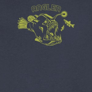 Angler Cyber System - Men's V-Neck T-Shirt by Canvas