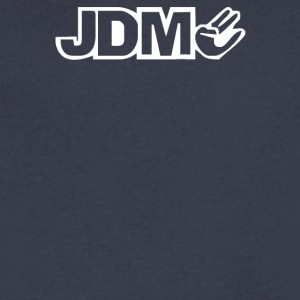 JDM - Men's V-Neck T-Shirt by Canvas