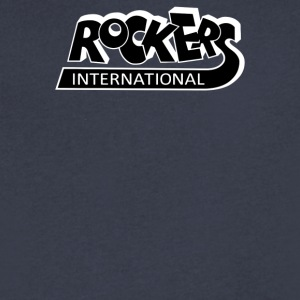 Rockers International - Men's V-Neck T-Shirt by Canvas