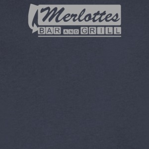 True BloodMerlottes - Men's V-Neck T-Shirt by Canvas