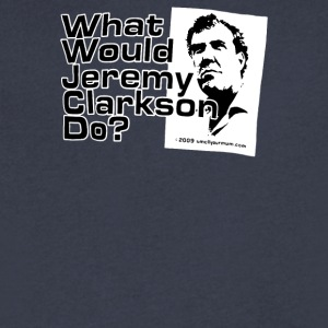 WHAT WOULD JEREMY CLARKSON DO - Men's V-Neck T-Shirt by Canvas