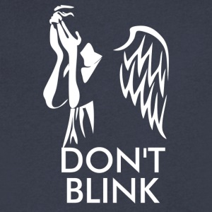 Dont Blink - Men's V-Neck T-Shirt by Canvas