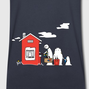 Family Vacation - Men's V-Neck T-Shirt by Canvas