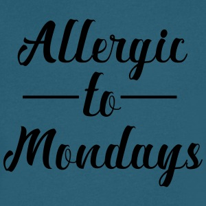Allergic to mondays - Men's V-Neck T-Shirt by Canvas