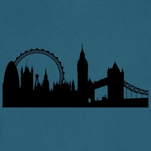 london silhouette 2 - Men's V-Neck T-Shirt by Canvas