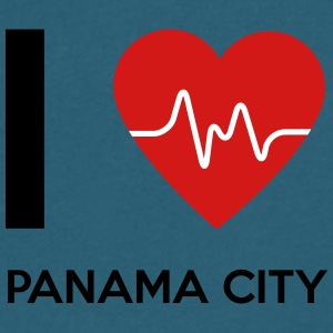 I Love Panama City - Men's V-Neck T-Shirt by Canvas