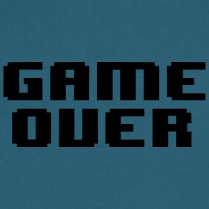 GAME OVER - Men's V-Neck T-Shirt by Canvas