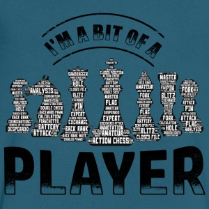 Chess Player - Men's V-Neck T-Shirt by Canvas