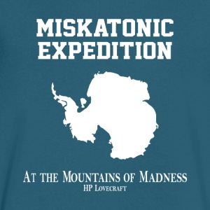 Miskatonic Expedition - Men's V-Neck T-Shirt by Canvas