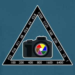 Camera Pyramid - Men's V-Neck T-Shirt by Canvas