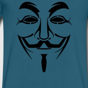 Anonymous - Men's V-Neck T-Shirt by Canvas
