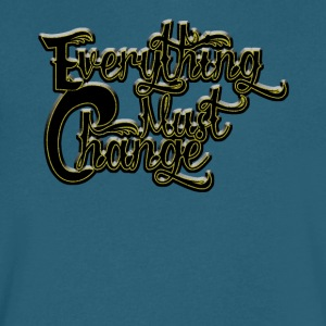 EVERYTHING MUST CHANGE 03 - Men's V-Neck T-Shirt by Canvas