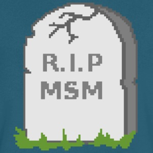 R.I.P MSM - Men's V-Neck T-Shirt by Canvas