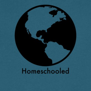 HomeSchooled - Black and White World - Men's V-Neck T-Shirt by Canvas